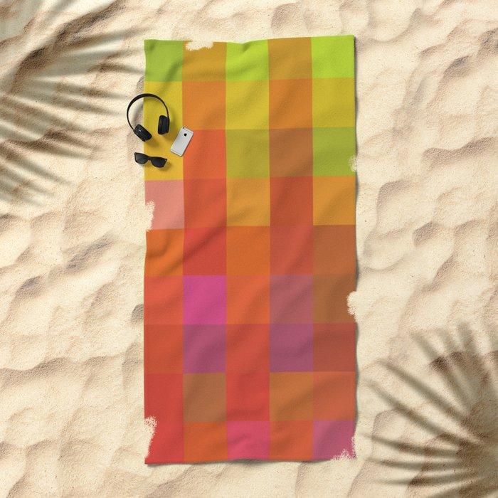 Quadros 01 Beach Towel