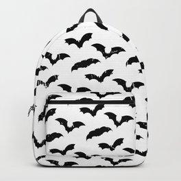 Bats Halloween Art   lllustration Digital Vector Art   Bat man   Bat Silhouette Backpack