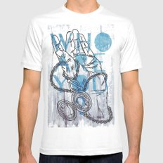 Something not to forget. Mens Fitted Tee MEDIUM White