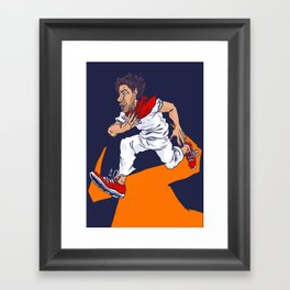 Bull Run Framed Art Print