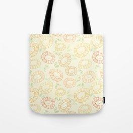 smiley flowers Tote Bag
