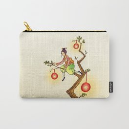 The Lantern Tree Carry-All Pouch