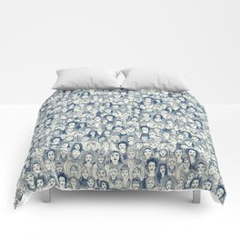 WOMEN OF THE WORLD BLUE Comforters