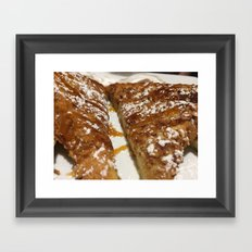 French Toast. Framed Art Print