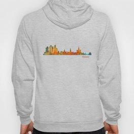 Moscow City Skyline art HQ v1 Hoody