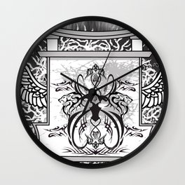 Temple of Hoon Se Kwon Wall Clock