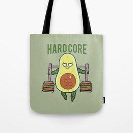 Hardcore Avocado Tote Bag