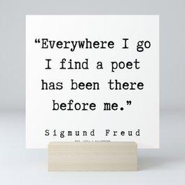 19 |   Sigmund Freud Quotes | 190926 Mini Art Print