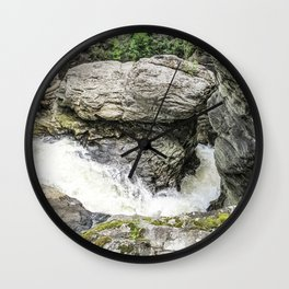 Round the Bend Wall Clock