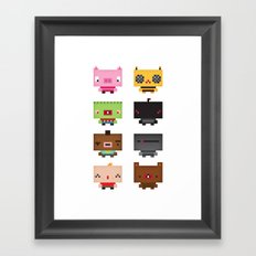 Boxies Framed Art Print
