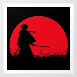 Samurai X Kunstdrucke
