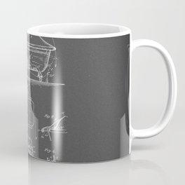 Rocking Oscillating Bathtub Patent Engineering Drawing Coffee Mug