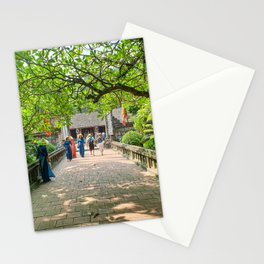 Tomb of the First Emperor, Hoa Lu Ancient Capital, Ninh Binh, Vietnam Stationery Cards