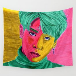 You Make My Life Colorful Wall Tapestry