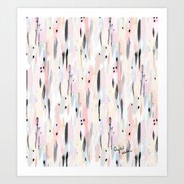 Illumination - blush dream Art Print