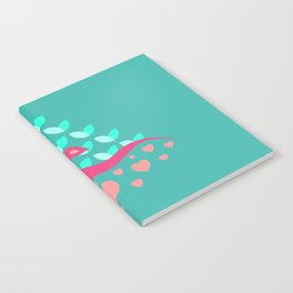Be Beautiful - Be Colourful Peacock Notebook