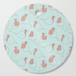 Robin's Egg in Blue Cutting Board