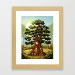 A Place Away From It All Framed Art Print