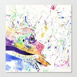 Bearded Dragon in full colour Canvas Print