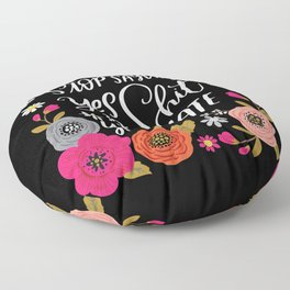 Pretty Swe*ry: Stop Saying Yes To Shit You Hate Floor Pillow