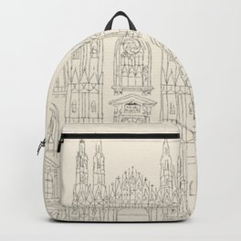 Cathedral of Milan Backpack