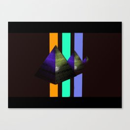 Forgoten Pyramids Canvas Print