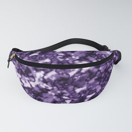 A pastel cluster of violet bodies on a light background. Fanny Pack