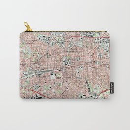 Greensboro North Carolina Map (1997) Carry-All Pouch