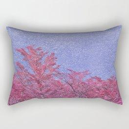 Fantasy Landscape Theme Poster Rectangular Pillow