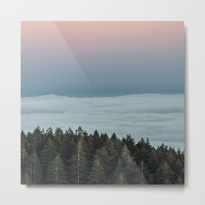 Woodland Serenity Metal Print