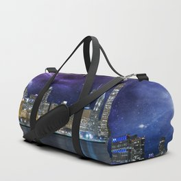 Spacey Chicago Skyline Duffle Bag