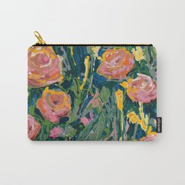 Lady Apricot Carry-All Pouch