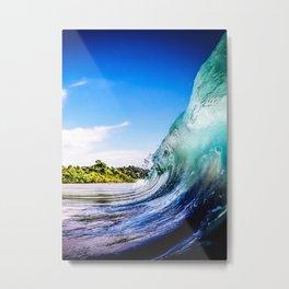 Wave Wall Metal Print