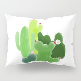 Cactus Friends Pillow Sham