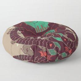 Operate, Annihilate Floor Pillow