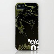 Random Solider 01 Slim Case iPhone (5, 5s)