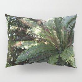Tropical Rainforest Fern Pillow Sham
