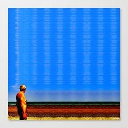 the sea level will rise Canvas Print