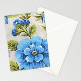 blue malva Stationery Cards