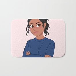 Sport Girl Bath Mat