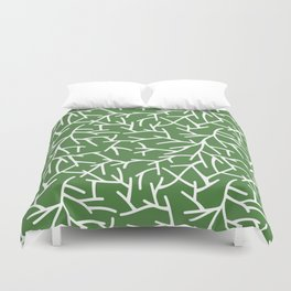 Branches - green Duvet Cover