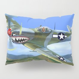 Spitfire Soars Over Hawaii Pillow Sham