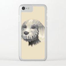 Cute Dog Clear iPhone Case