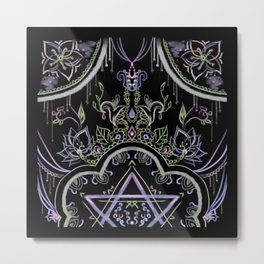 Magical Portal Metal Print