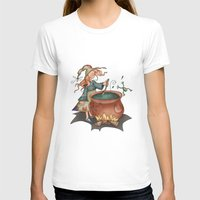 witch T-shirts featuring Witch by Catru