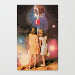 If 01: Witnesses to the Creation of Possibility Canvas Print