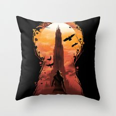 The Wind Through the Keyhole Throw Pillow