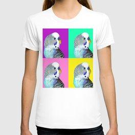 Blue Boy Budgie Bird T-shirt