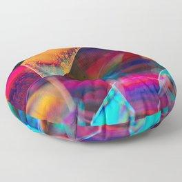 Rainbow Bubbles Floor Pillow