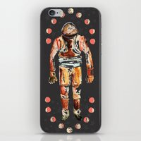spaceman iPhone & iPod Skins featuring Spaceman by AnnaW